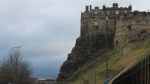 Our Last View of Edinburgh Castle